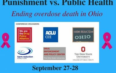 NO MORE OVERDOSES: Inventive drug policy event at Ohio State University in Columbus
