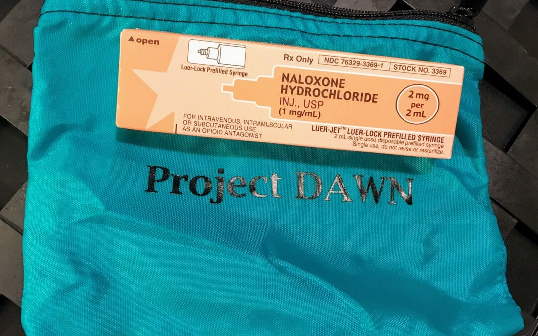 Naloxone…a drive-by and a walk-by