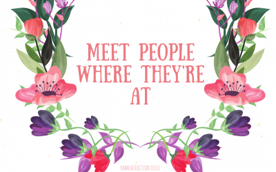 """Now Available: """"Meet People Where They're At"""" T-shirt"""