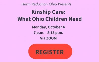 """""""Kinship Care: What Ohio Children Need"""" – Panel Discussion, Monday, Oct. 4 at 7 p.m."""